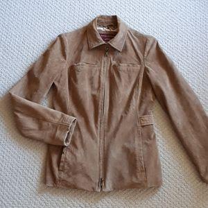 EDDIE BAUER Washable Suede Jacket